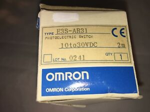 New Omron Photoelectric Switch e3s ar31