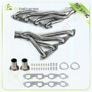 Stainless Steel Shorty Headers For Chevy 396 402 427 Bbc Camaro Chevelle