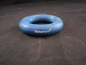Fisherbrand 51mm Id Round Vinyl Lead Ring Flask Weight Fits 250 1000ml Flasks
