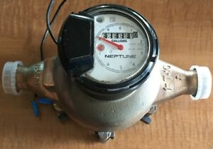 Neptune T 10 1 Nsf61 Water Meter Proread Pit Direct Read Used