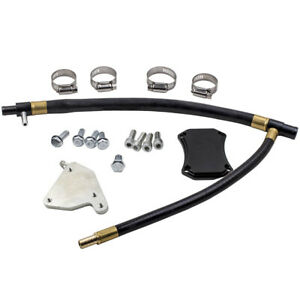 Egr Valve Cooler Delete Kit For Gmc Chevy 6 6l Duramax Lml Diesel 2011 2015