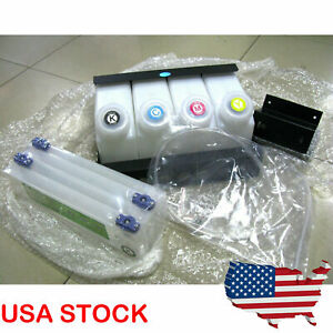 Us Continuous Bulk Ink Supply System Ciss For Roland Fj540 740 sp540 xc540 rs640
