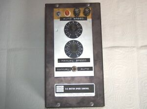 Bodine Model Dpm5130e Variable Speed Control Unit Box Drive Ac dc Electric Motor