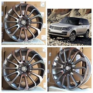 22 Supercharged Autobiography Rims Wheels Fits Land Rover Range Hse Sc 22 X 9 5
