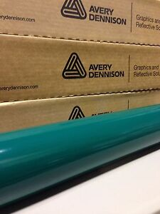 24in X 150ft 2ft X 50yd Avery Hp700 Forest Green Cut Vinyl Roll