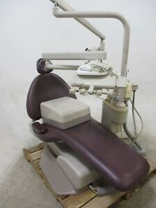 Used Adec 1040 Dental Patient Exam Chair W Operatory Delivery System