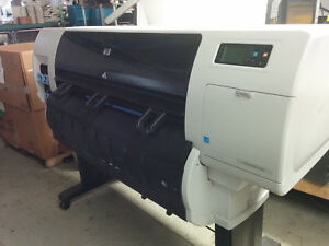 Hp Designjet T7100 Large Format Printer Plotter