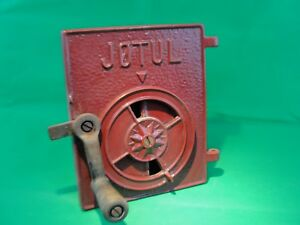 J Tul Jotul 602 Or 118 Cast Iron Door With Handle Wood Stove Woodstove Part