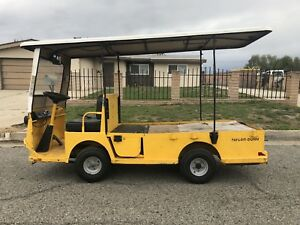 2010 Taylor Dunn B2 48 Industrial Flatbed Electric Utility Cart 2 Or 4 Seater