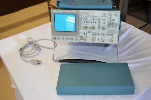 Tektronix 2246 Oscilloscope 100 Mhz 4 Ch Cover 4 Probes Manual Pouch