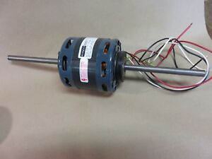 Fasco D337 Electric Motor 115v 1 8 Hp Part 7108 5191 Double Shaft
