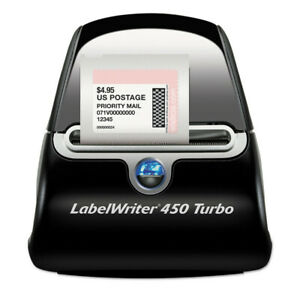 Dymo Labelwriter 450 Turbo Printer 71 Labels Per Minute 1752265 New
