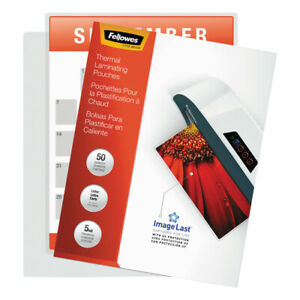 Fellowes Laminating Pouches With Uv Protection 5mil 11 1 2x9 100 pk 52040 New