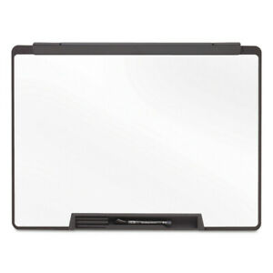 Quartet Motion Portable Dry Erase Board 36 X 24 White Black Frame Mmp75 New