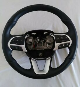 2015 2018 Dodge Charger Rt Scat Pack Oem Steering Wheel Automatic Heated Leather