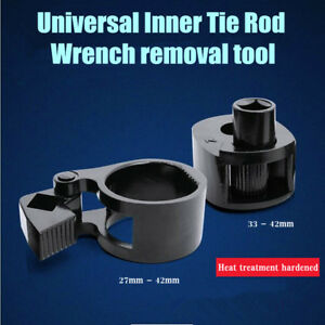 2x Universal Inner Tie Rod Wrench 27mm 42mm Removal Tool Tie Rod End Car Truck