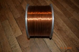 Western Electric Acme 10 Lbs Heavy Armored Poly Thermaleze Magnet Wire