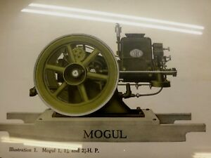 Ihc Mogul 1hp 1 3 4hp 2 1 2hp Original Color Framed Print Old Gas Engine