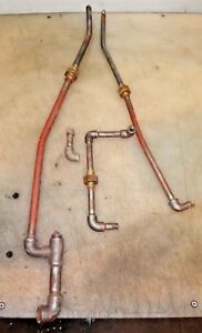 Original Fuel Lines For A 3hp Ihc Vertical Famous Old Gas Hit And Miss Engine
