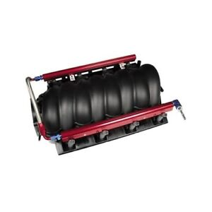 Professional Products 10614 Fuel Rail Aluminum Red Anodized Chevy 6 0l Kit