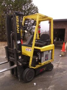 Electric Forklift 2010 Hyster E35z 3500