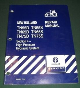 New Holland Tn55d Tn65d Tn75d Tn55s Tn65s Tn75s Tractor Service Repair Manual