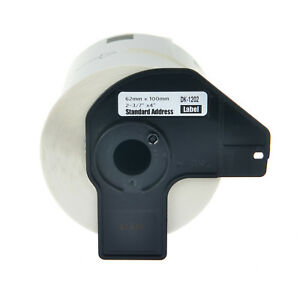 20roll 300 Shipping Labels Dk1202 W frames 2 3 7 x4 For Brother Ql 1100 800 810
