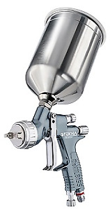 Devilbiss 905027 Gravity Feed Spray Gun With Cup 1 8 2 Mm Nozzle