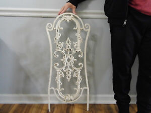 Vintage Wrought Iron Architectural Salvage Wall Decor Art 32 1 2