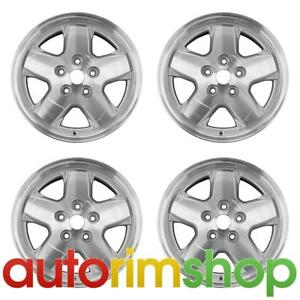 New 16 Replacement Wheels Rims For Jeep Liberty 2002 2007 Set Silver 9038