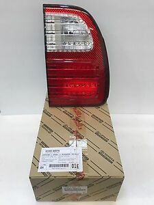 Lexus Oem Factory Drivers Rear Inner Tail Lamp Lens 1998 2002 Lx470