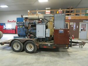 1995 Cummins 200kw Diesel Generator 480v 1 And 3 Phase Iowa