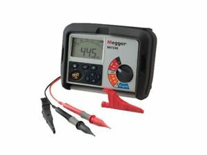 Megger Mit320 250 500 1000v Insulation And Continuity Tester With Backlight A