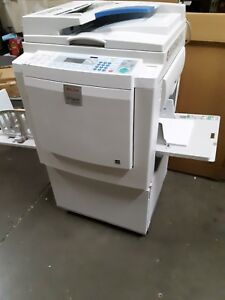 New Ricoh Dx3343 Digital Duplicator just Out Of The Box