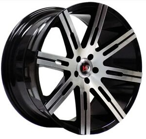 4 Four 22 K9 883 Spoke 22x9 5 15 Wheels Rims Light Truck Suv Gmc Chevy 5 Lug