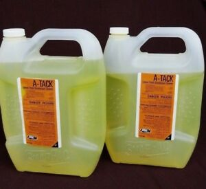 Ssdc Ecolab A tack Lemon Fresh Disinfectant Cleaner 1 Gall 2 Bottles