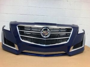 2014 2017 Cadillac Cts Front Bumper 23188948 13