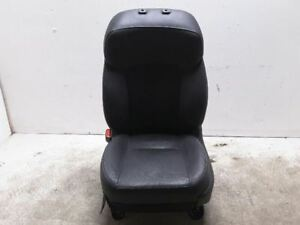 Forester 2016 Left Front Seat Electric Leather Black Oem