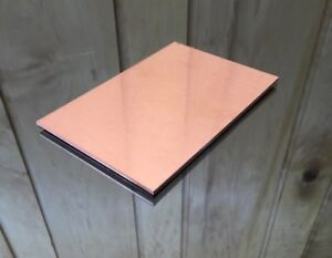 1 8 Copper Sheet Plate New 4 x6 125 Thick custom 1 8 Sizes Available