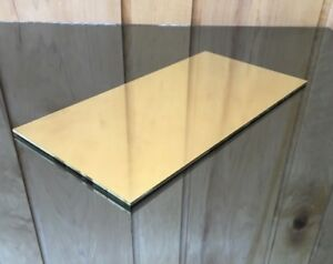 1 8 Brass Sheet Plate New 6 x12 125 Thick custom 1 8 Sizes Available