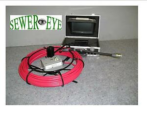 Sewer Eye Sewer Cameras 1 Color Small Pipe Inspection Camera Snake