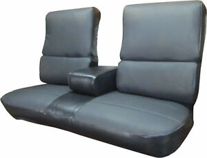 1970 Cadillac Deville Standard Rear Bench Seat Cover With Armrest
