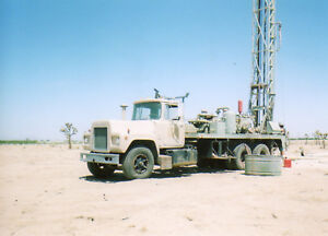 Water Well Drilling Rig G D 1000 H D 5x6 667 Air 7 5 Table 300 x2 7 8 Rods