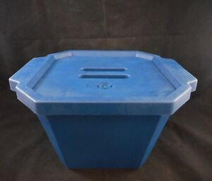 Fisherbrand Polyurethane 4 5l 4500ml Ice Bucket With Lid 18 5 X 7 25in 02 591 45