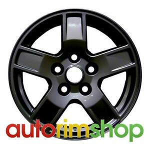 Jeep Grand Cherokee 2005 2006 2007 17 Factory Oem Wheel Rim Black 5ht53zdjaa