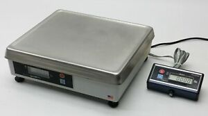 Avery Berkel 6720 7 Bench Electronic Lab Pos Scale 15 0 005lb W remote Display