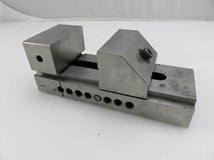 Machinist Tool Die Maker Precision Grinding Mill Drill Press Vise 3 Wide Jaws
