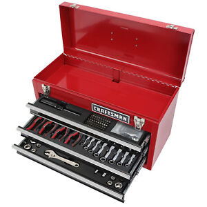Craftsman 178pc Mechanics Tool Set With Metal Hand Box Model 70768 99048 New