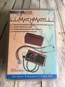 Mabis Matchmates Sprague Rappaport type Combination Kit In Burgundy