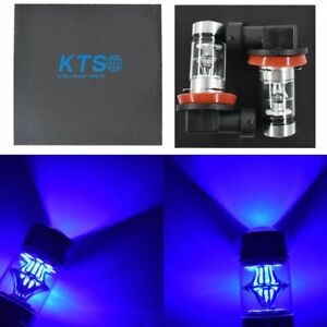 2x H8 H9 H11 H16 10000k Deep Blue 100w Led Headlight Bulb Kit Fog Light